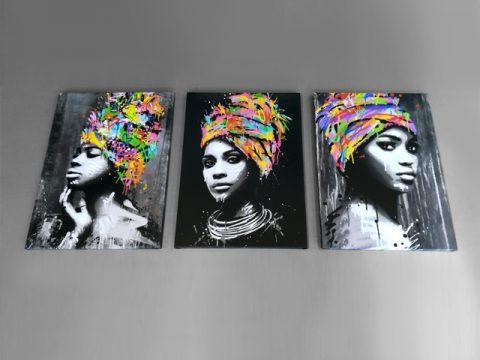 картини африканки 3 части