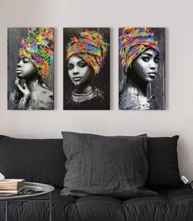 картина африканки 3 части