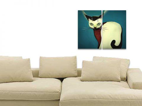котка рисунка