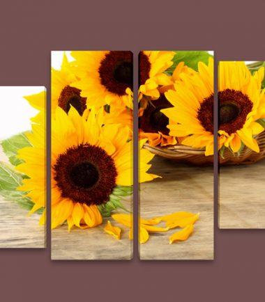 слънчогледи 4 части