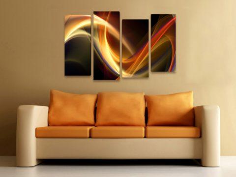 картина Абстракт Вълна