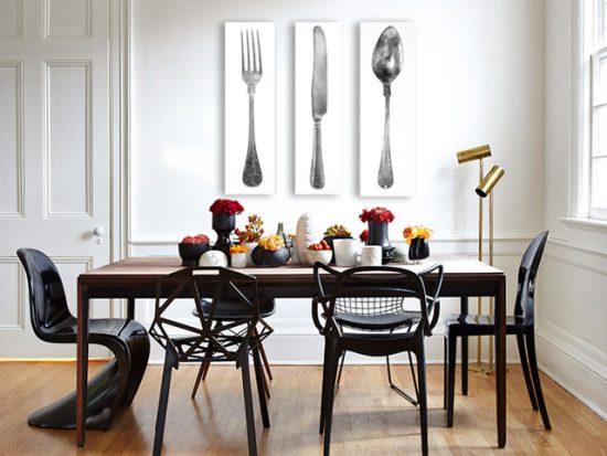 картина нож вилица лъжица кухня ресторант