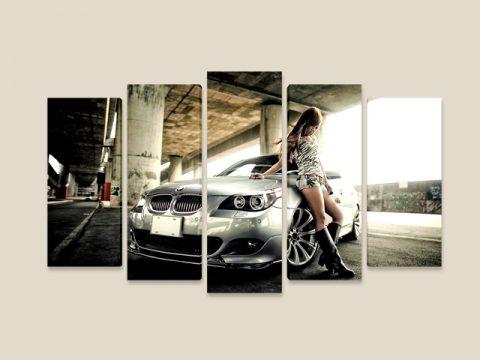 кола момиче 5 части