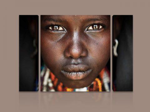 очи дете африка