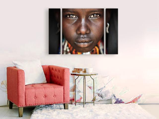 Очите на Африка картина