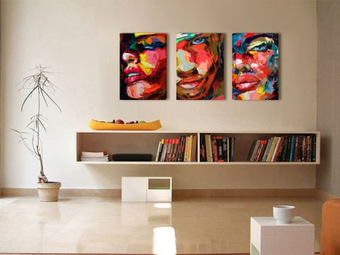 онлайн магазин картини, картина арт лица