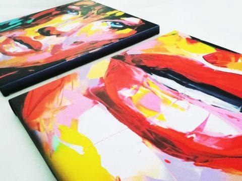 онлайн магазин картини, картина пано арт лица