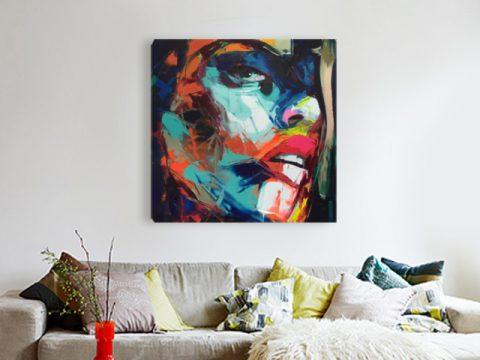 онлайн магазин картини за стена арт лице жена
