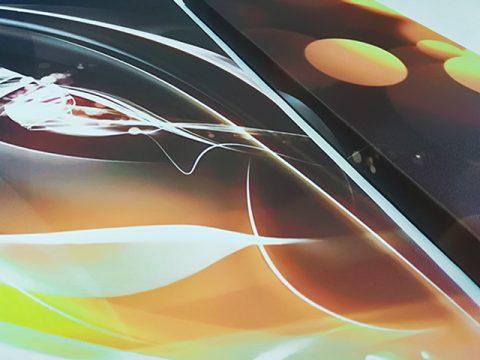 абстракт кафяво