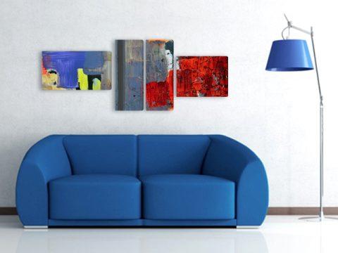 картина експресионизъм абстракция 4 части