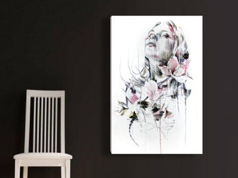 рисунка жена