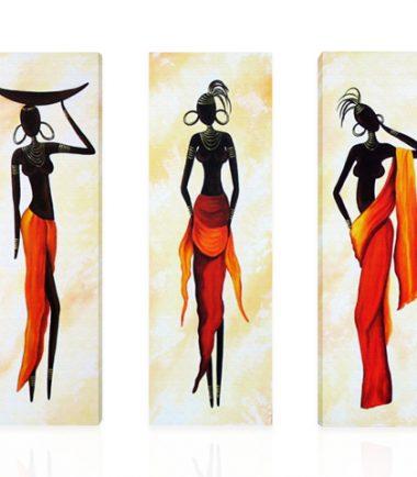 пано африкански жени 3 части