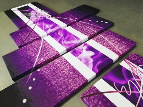 онлайн магазин картини, картинаабстракт лилаво
