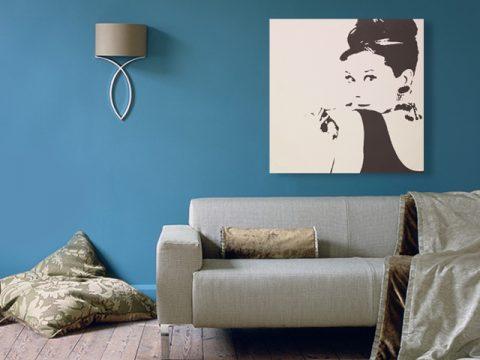 картина с Одри Хепбърн