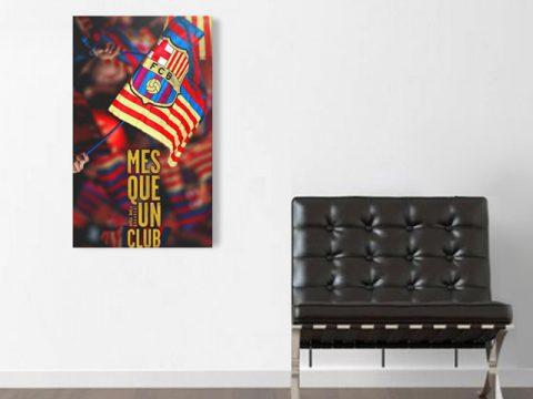 Mes que un club барса футбол, картини за стена