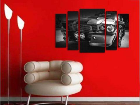 картина кола shelby