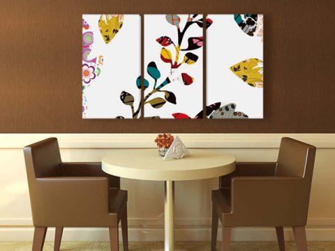 картина Флорален абстракт
