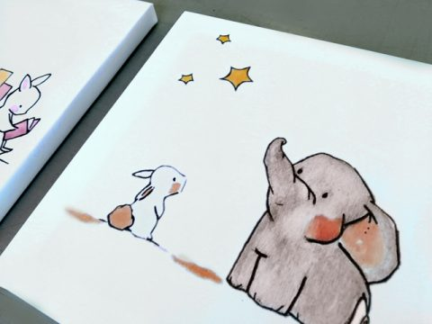 слонче и зайче