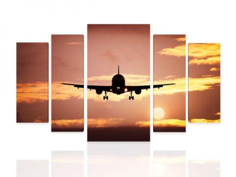самолет 5 части
