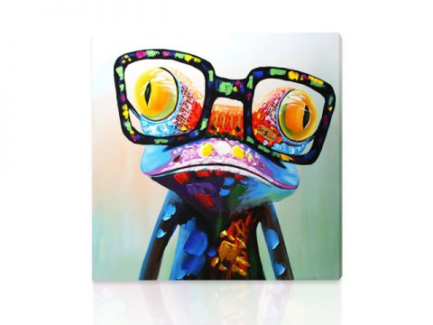 поп арт жаба