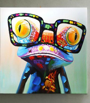 картини поп арт жаба