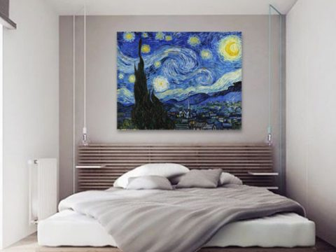 Ван Гог Звездна нощ репродукция