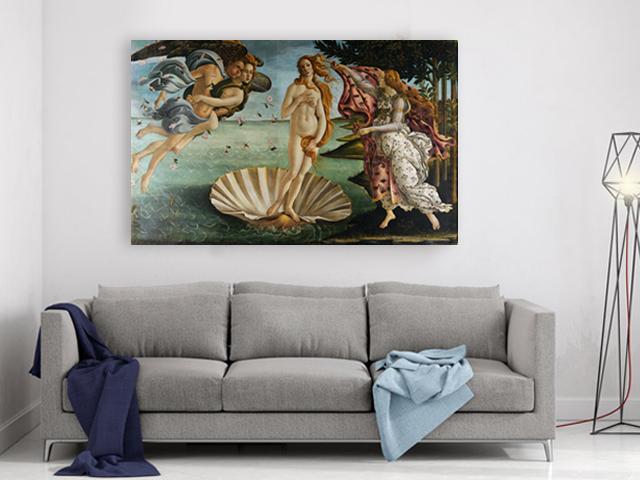 репродукция Раждането Венера