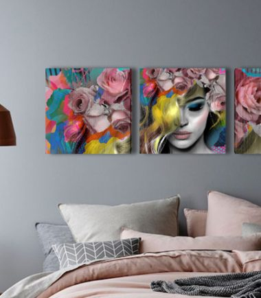 жена рози картина