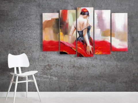 картина фламенко