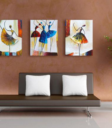 принт картини с арт балерини