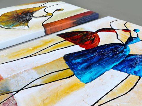 онлайн магазин картини, пано балерини арт абстрактни