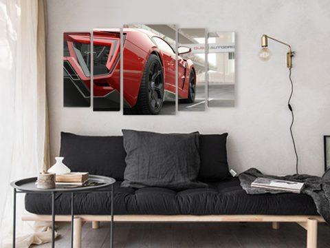 картина кола
