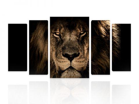декоративно пано лъв