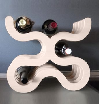 стойка за бутилки вино