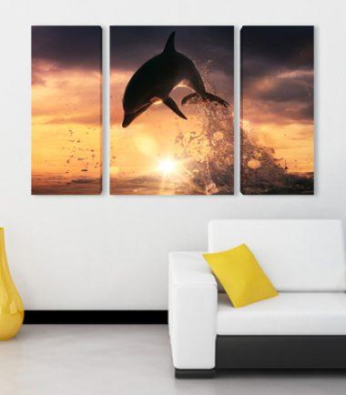 картина делфин