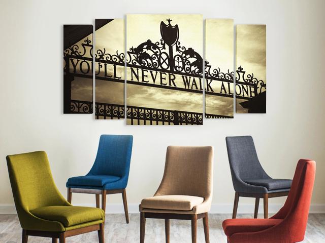 Ливърпул Shankly gates картина