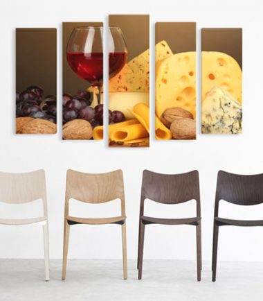 картина вино сирена