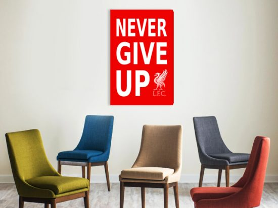 картина never give up lfc