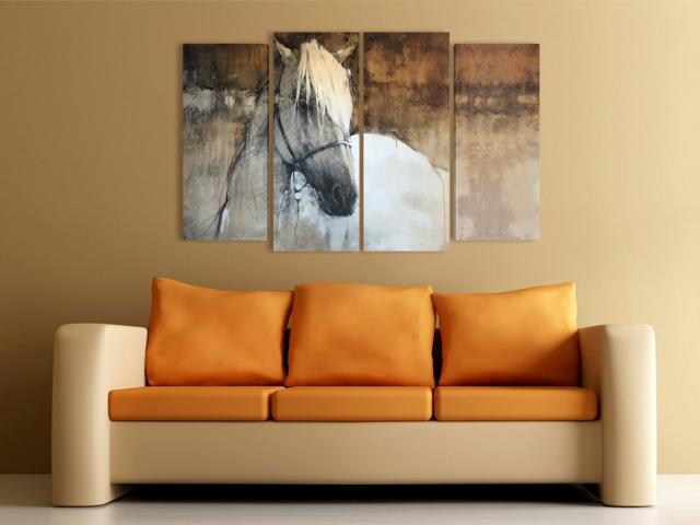 онлайн магазин картини, Кон Рисунка картина за стена