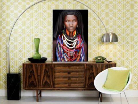 онлайн магазин картини, картина африканка арт фото