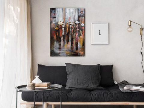 картина пано Дъжд, онлайн магазин картини