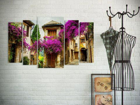 картина за стена прованс градски пейзаж, онлайн магазин за картини