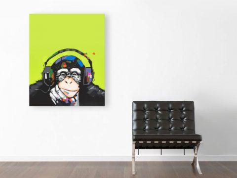 картина пано поп арт маймуна, онлайн магазин картини