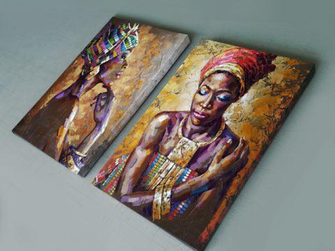 картина Африканки арт