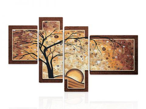 картина пано Пейзаж абстракт